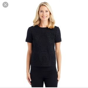 J McLaughlin Evgenia Embroidered Top - NWT